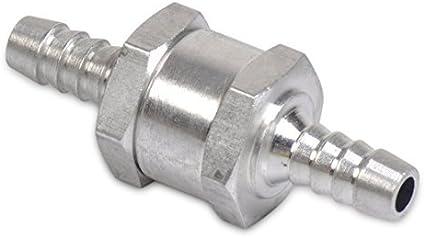 Eastar Lot de 1 clapet anti-retour pour carburant non retourn/é 8 mm 5//16 rempli par