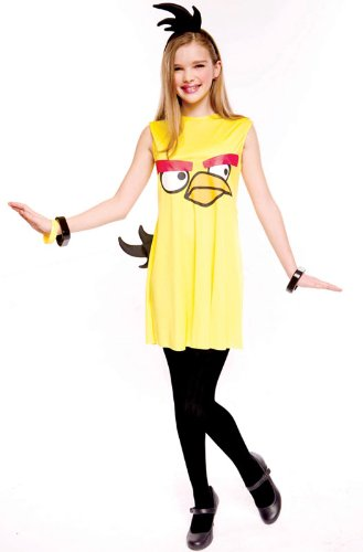 Angry Birds Yellow Bird Adult Costumes - Paper Magic Angry Birds Child Dress