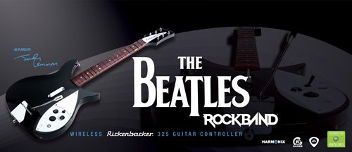 Amazon com: The Beatles: Rock Band Wii Wireless Rickenbacker