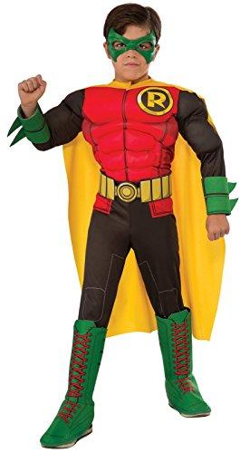 Deluxe Robin Costume for Kids (Robin Deluxe Costume)