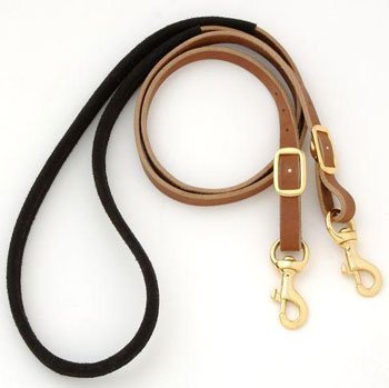 Royal King Suede Wrapped Barrel Reins (Leather Wrapped Barrel)