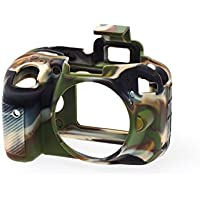 EasyCover Silicone Protective Camera Cover/Case for Nikon D3400 Camouflage