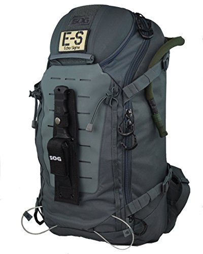 Echo-Sigma Emergency Get Home Bag SOG Special Edition V2 (Black) Echo-Sigma Gear And Gadgets