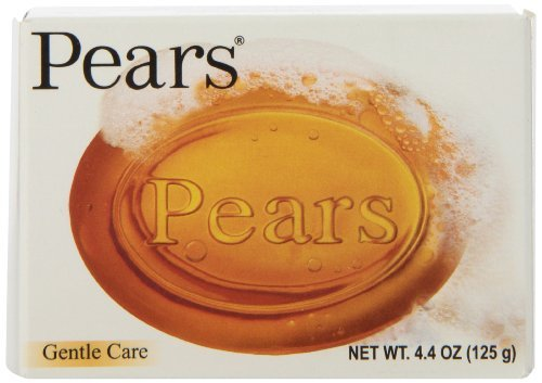 Pears Natural Glycerine Transparent Soap, 4.4-Ounce Bar (Pack Of 12) Globalbeauty