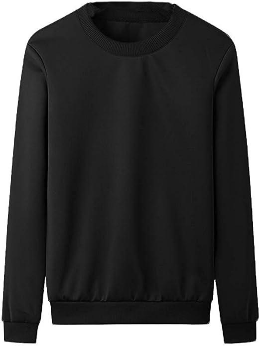Mezclado dialecto cosecha  Yingsssq Suéter Liso para Hombre Jersey suéter Trabajo Casual Ocio (Color :  Negro, tamaño : Medium): Amazon.es: Hogar