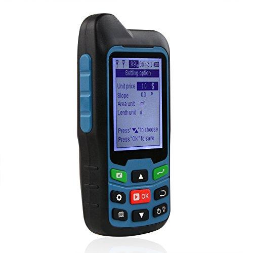 Te-Rich Handheld GPS GLONASS Land Area Measurer Calculation Meter