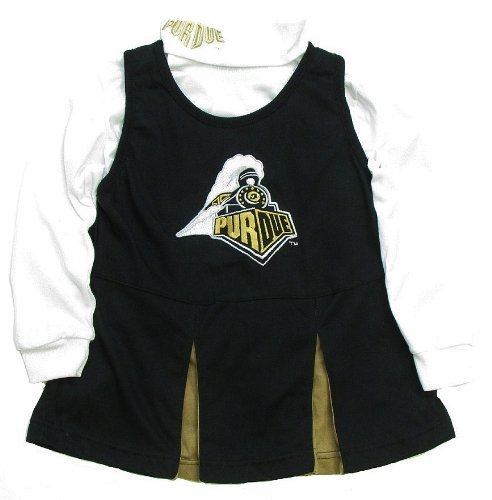 Girls Purdue Boilermakers Cheerleader Outfit, Purdue Cheer