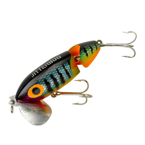 Arbogast lure company jointed jitterbug fishing lure for Jitterbug fishing lure
