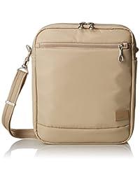 PacSafe Citysafe CS150 Anti-Theft Cross-Body Shoulder Bag, Almond
