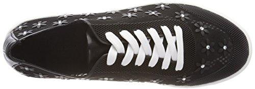 Gerry Weber Vrouwen Lilli 06 Sneaker Zwart (black)