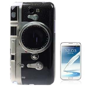 Camera Pattern Anti-scratch Plastic Case for Samsung Galaxy Note 2 / N7100