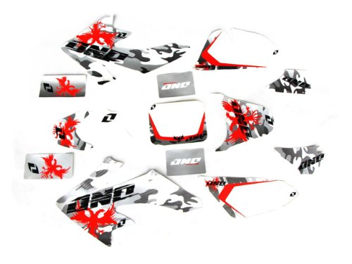 Kit Graphics Decal (13Z DE07 Graphics Decal Stickers Honda Crf50)
