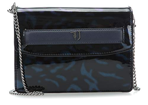 Paprica Trussardi De Bolso Jeans Hombro Negro azul BFwzPq5F