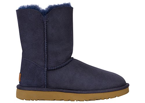 Blue Bailey Bow Ugg Boots - UGG Women's Bailey Button II Winter