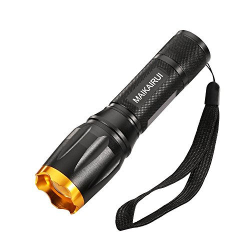 CREE Torch Light, MAIKAIRUI Super Bright Zoomable Flashlight, Best Led...