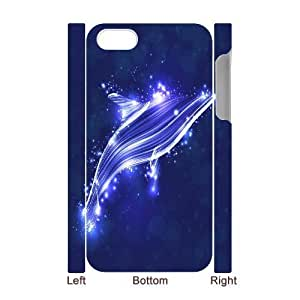 C-Y-F-CASE DIY Dolphin Pattern Phone Case For Iphone 4/4s