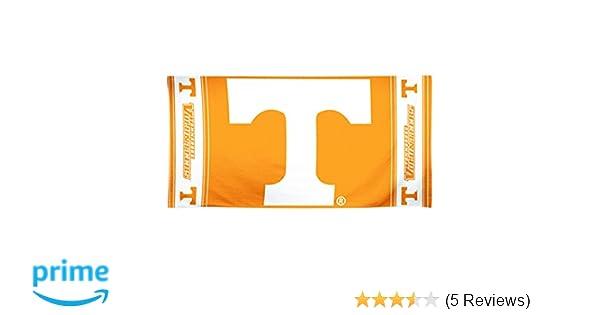 "University Of Tennessee Volunteers Big T Orange White Beach Towel NEW 30/"" x 60/"""