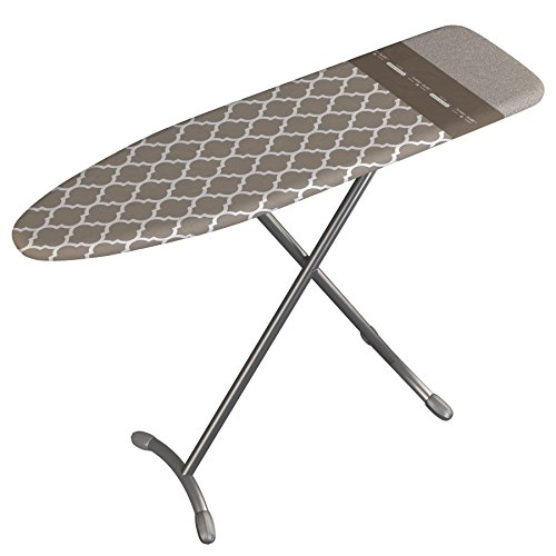Laundry Solutions by Westex European Designed Platinum Ironing Board, 15