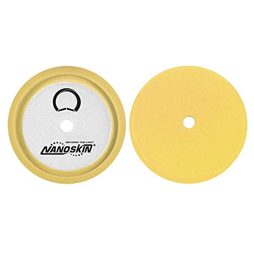 S.M. Arnold 8″ Speedy Foam Buffing Pad, Light Compounding – Yellow [NAA-SFPD81]