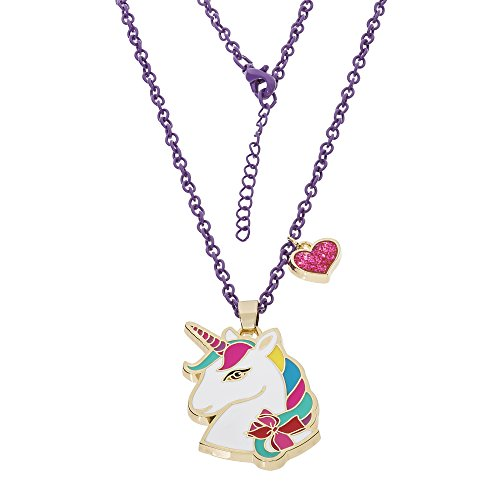 Jojo Siwa Unicorn With Heart Charm Pendant Necklace, 16''+3'' by Jojo Siwa (Image #1)