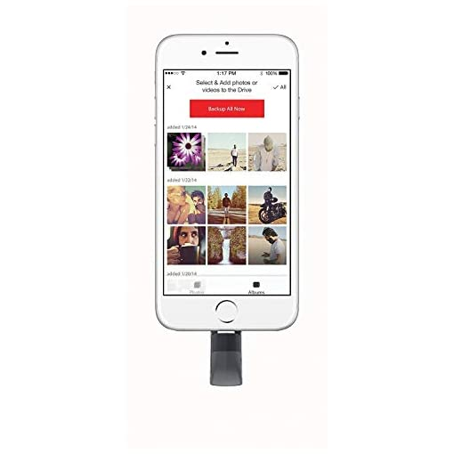 SanDisk iXpand V2 256 GB USB Flash Drive for iPhone and iPad – Black (Refurbished)