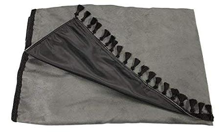 schwarz Adomo LKW Gardinen passgenau zum TGX XXL in grau