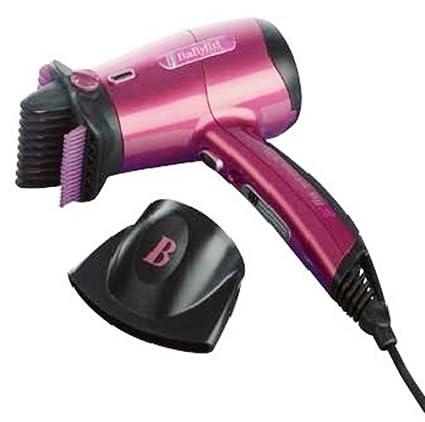 BaByliss Beliss 5710 E Secador de pelo, 1600W, 2 velocidades, rosa