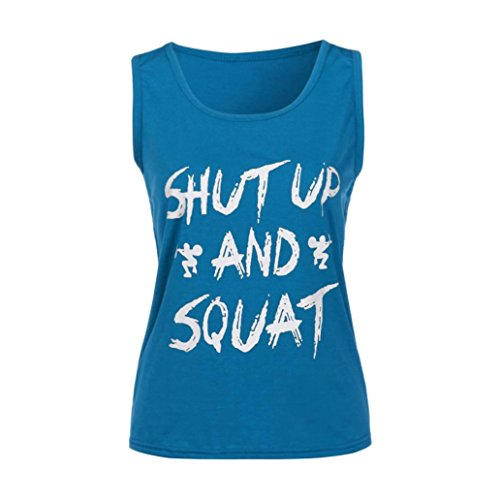 Clearance ! Women Blouse, ღ Ninasill ღ Fashion Gym Clothes Fitness Yoga Vest Tops T Shirt Tank (L, - Shop Board Game Top