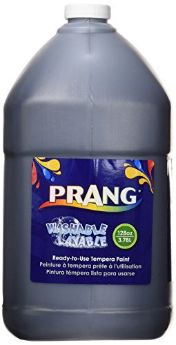 Prang 10609 Prang Washable Paint, Gallon Size, Black, 1 Unit