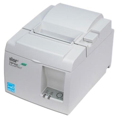 Star Micronics 39464510 Model TSP143IIU WHT US ECO Thermal Printer, Cutter, USB, With Internal Power Supply, White by Star Micronics (Image #1)