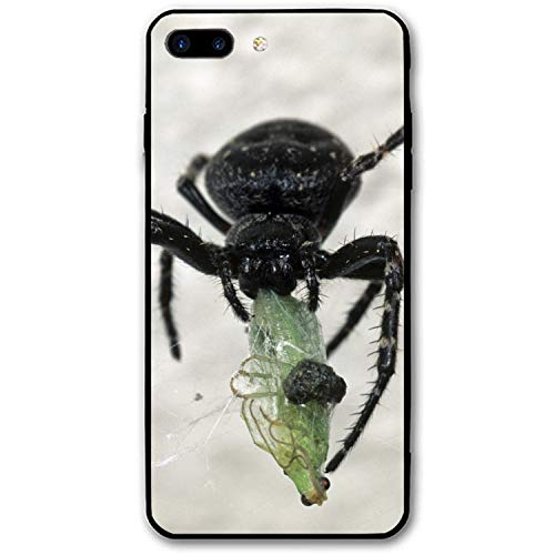 Spider Victim Food iPhone 8 Plus Rubber Shockproof Cover Compatible with iPhone 8 Plus]()