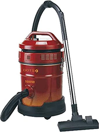 Dots Vacuum Cleaner, 1500W, Red, VD-104R