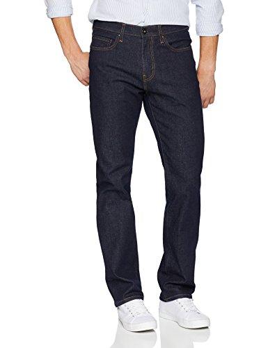 - Goodthreads Men's Straight-Fit Jean, Rinse/Dark Blue, 31W x 34L