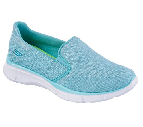 Skechers Equalizer Say Something - Zapatillas Mujer Say Something/Light Blue