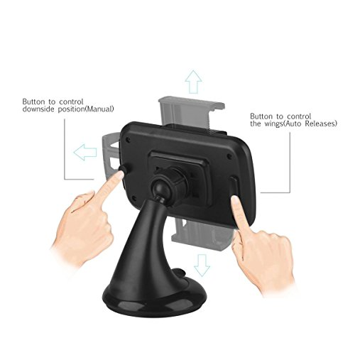 Cell Phone Holders.Universal Car Phone Holder 360 Degree Rot