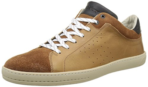 Baskets Homme Basses camel Marron Sniff Kickers RnWTvZxH