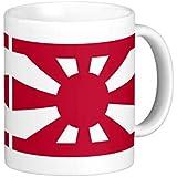 大日本帝国海軍、少将旗のマグカップ:フォトマグ(世界の国旗、軍旗シリーズ)