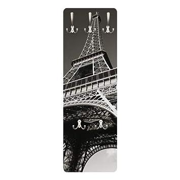Perchero de diseño de Torre Eiffel 139 x 46 x 2 cm, COATRACK ...
