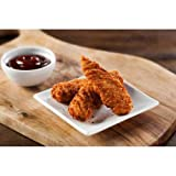 Chickentopia Fully Cooked Whole Grain Breaded Chicken Breast Tender, 5 Pound -- 6 per case.