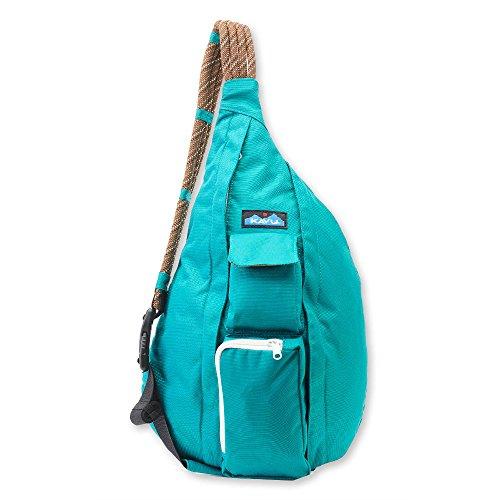 KAVU Women's Rope Sling Outdoor Backpacks, One Size, (Pocket Jade Green)