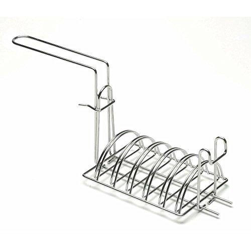 - Fryer Basket for Taco Salad Bowl Stainless Steel - Sliding