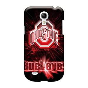Scratch Protection Hard Phone Cases For Samsung Galaxy S4 Mini With Custom Realistic Osu Buckeyes Pictures AshleySimms
