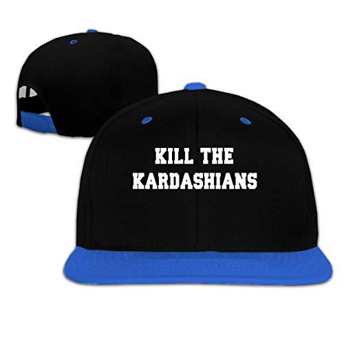 NOJFPAF Boys Girls Hat Kill The Kardashians Baseball Caps Blue ()