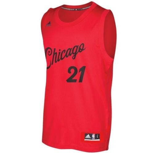 Chicago Bulls Jimmy Butler #21 adidas NBA Youth Christmas Day 2016 Replica Jersey (Small 8) (Jersey Bulls Chicago Christmas)