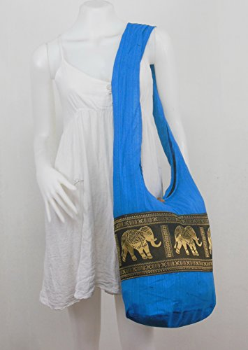 Bag Shoulder Hippie Naluck Skyblue Body Sling Vintage Messenger Cross Hobo Elephant Boho wRCZRvpq