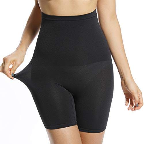 Women's High Waist Shapewear Boyshorts Slip Shorts for Under Dress Thigh Slimmer Body Shaper