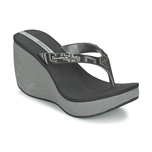 Wedge Grey Ipanema Black Thong Shoes Strap Bolero Women's BE8wqZPY