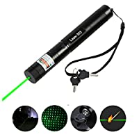 Hangang Tactical Green Hunting Rifle Scope Sight Laser Pointer Pen Multifunction Flashlight Stylish Sight Dot Scope Flashlight