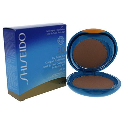 - Shiseido UV Protective Compact Foundation SPF 30, No. Sp40 Medium Ochre, 0.42 Ounce