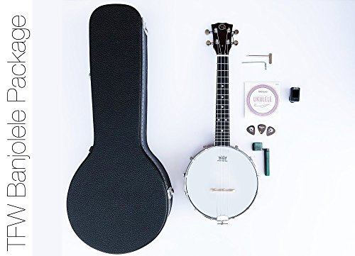 TFW Banjolele Starter Kit - With Case and Accessories by TheFretWire